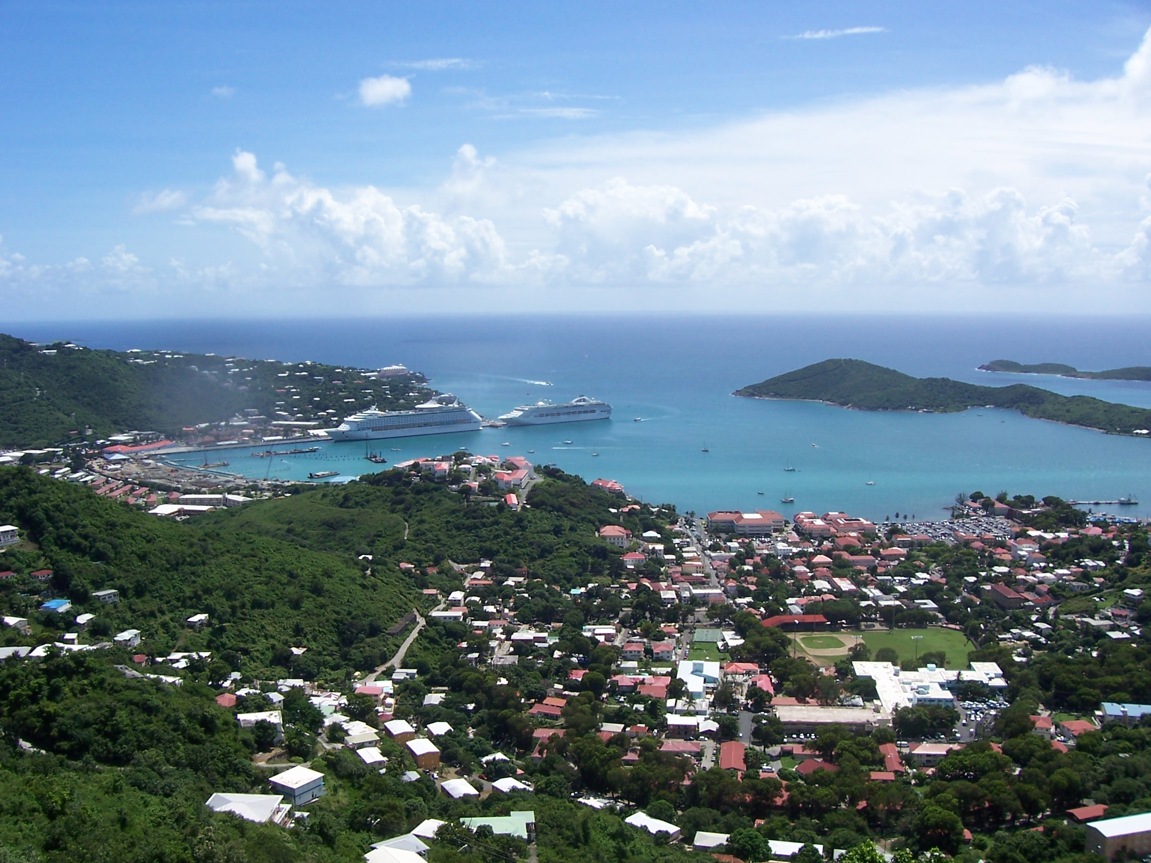 Saint Thomas U.S. Virgin Islands  City new picture : Charlotte Amalie, U.S. Virgin Islands :: Worlds Best Beach Towns